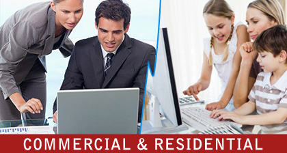 Services for commercial and residential